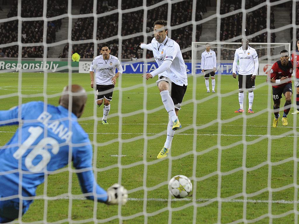 Lille vs Valencia (Lusa)
