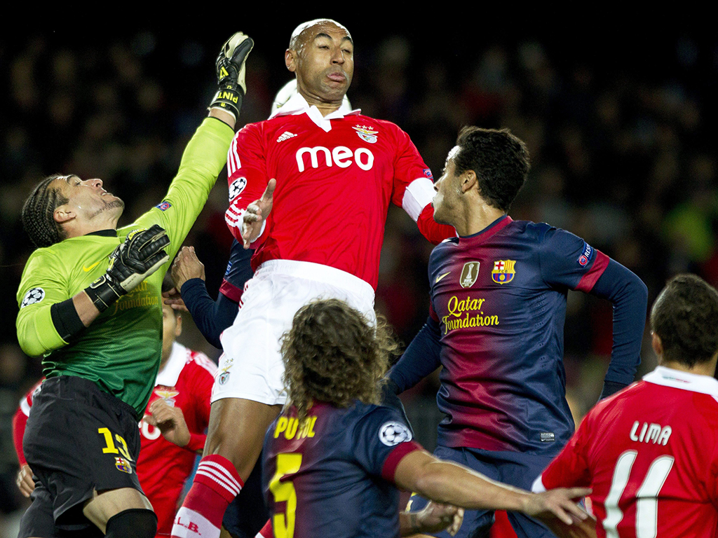 Barcelona vs Benfica (Lusa)