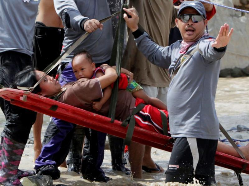 Tufão«Bopha» fez mais de mil mortos nas Filipinas (REUTERS/Erik de Castro)