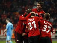 Bayer Leverkusen vs Rosenborg (Reuters)