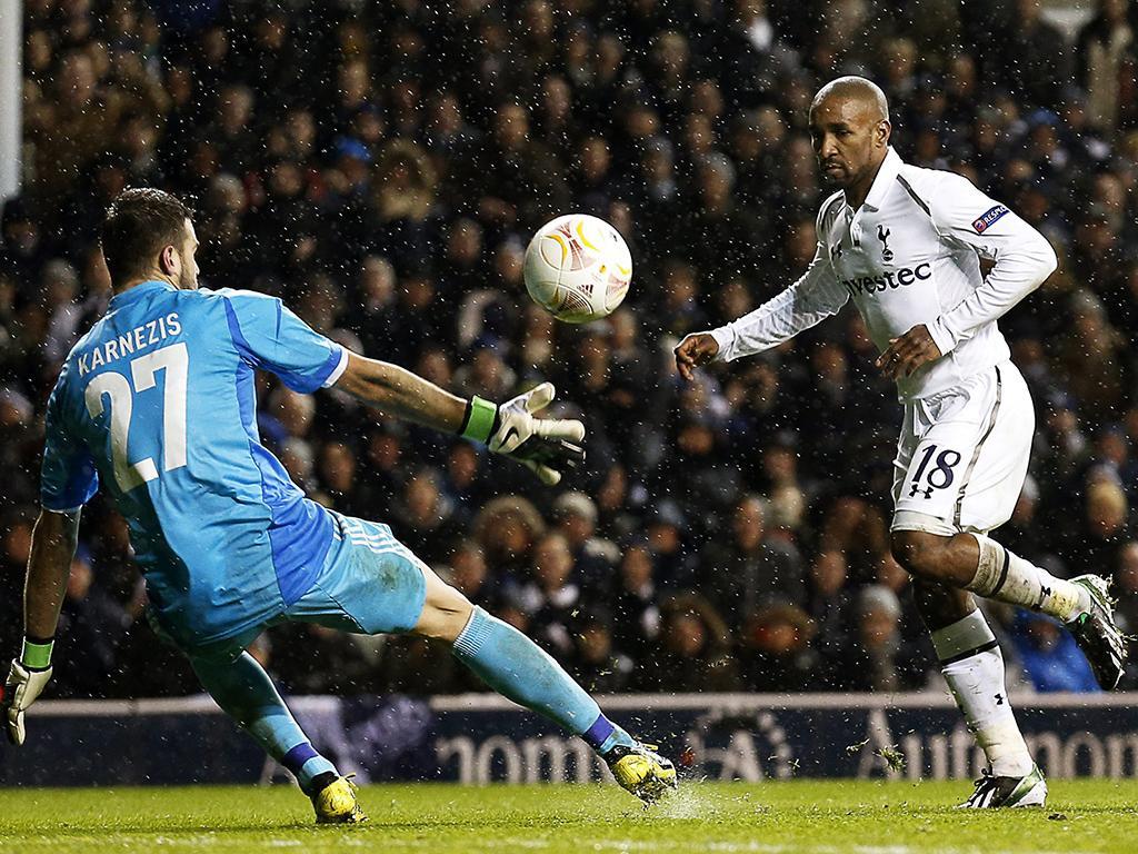 Tottenham vs Panathinaikos (Lusa)
