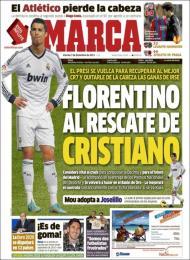 Marca: Florentino ao resgate de Cristiano
