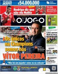 O Jogo: Vítor Pereira e o caldo encharcado para o derby