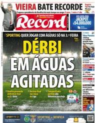 Record: derby em águas agitadas
