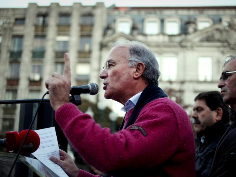 Manifestação da CGTP no Porto [LUSA]