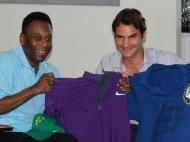 Pelé e Federer