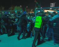 Polícia em ação no futebol