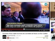 Florentino Pérez, Falcao e o guardanapo