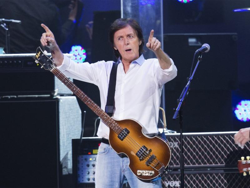 Paul McCartney no concerto «12-12-12» em Nova Iorque (Reuters)