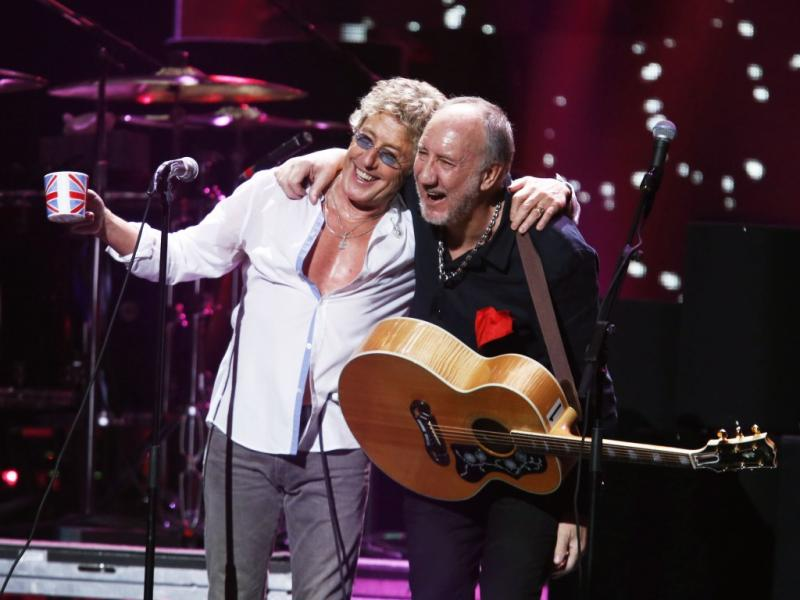The Who no concerto «12-12-12» em Nova Iorque (Reuters)