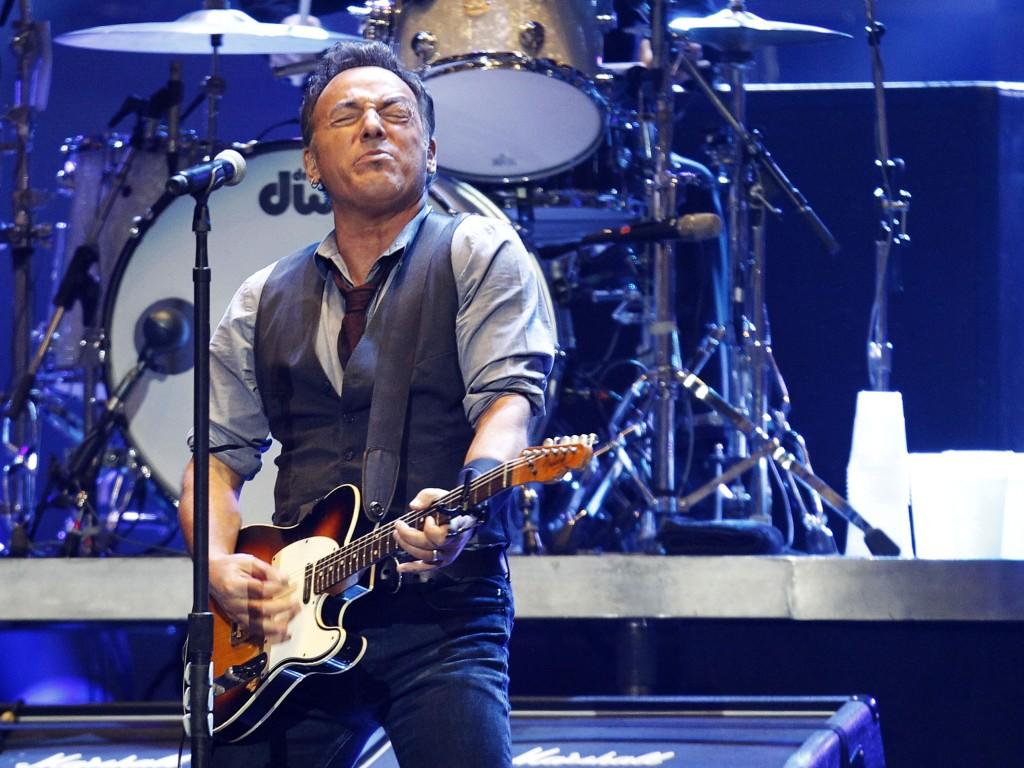 Bruce Springsteen no concerto «12-12-12» em Nova Iorque (Reuters)