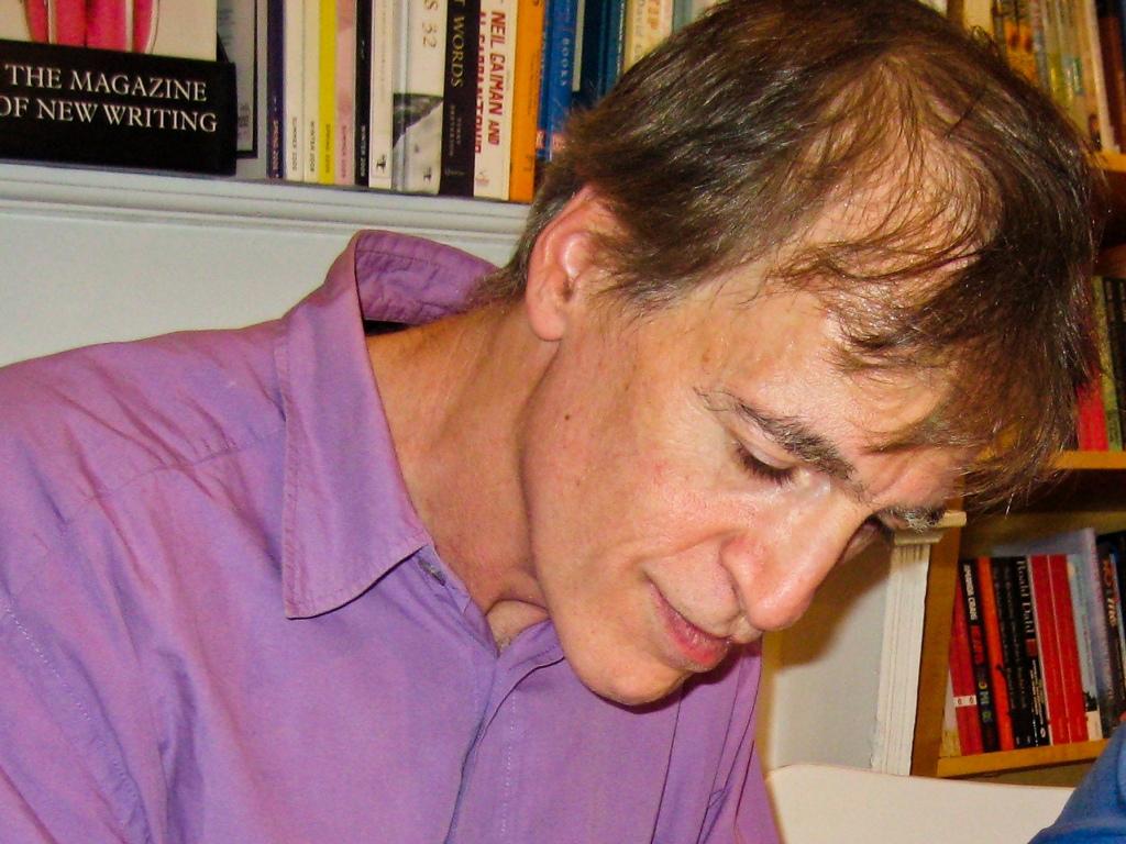 Richard Zenith distinguido com o Prémio Pessoa 2012 [Arquivo LUSA]