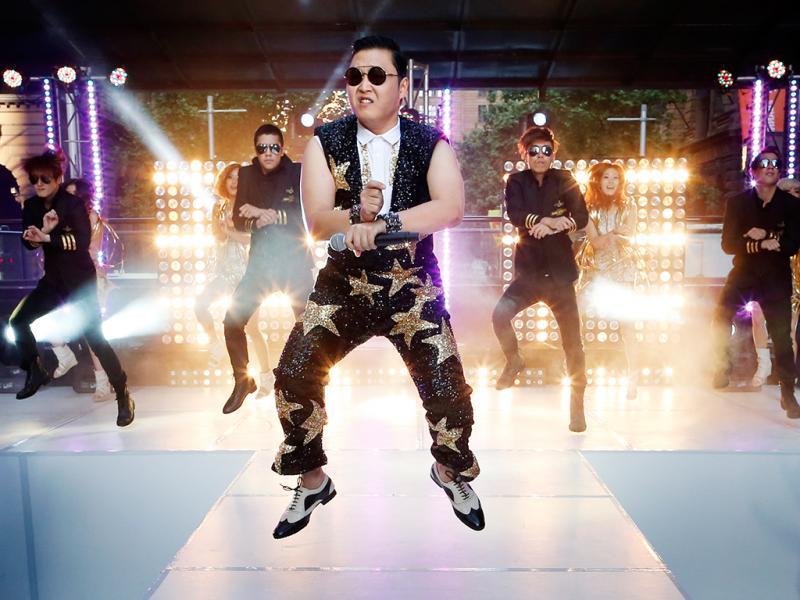 PSY - Gangman Style (Foto: Tim Wimborne / Reuters)