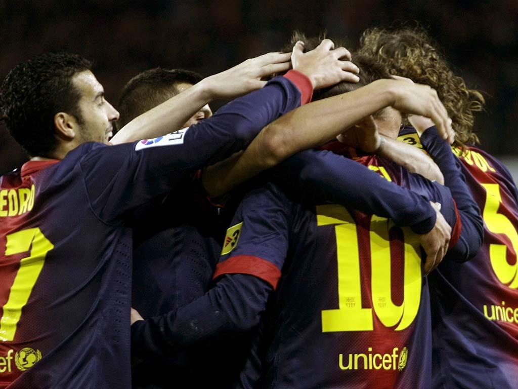 Barcelona vs At. Madrid (REUTERS)