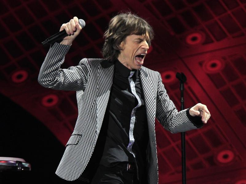 Concerto dos Rolling Stones em Newark (Reuters)