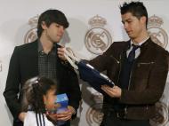 Festa de Natal do Real Madrid (EPA/JUAN CARLOS HIDALGO)