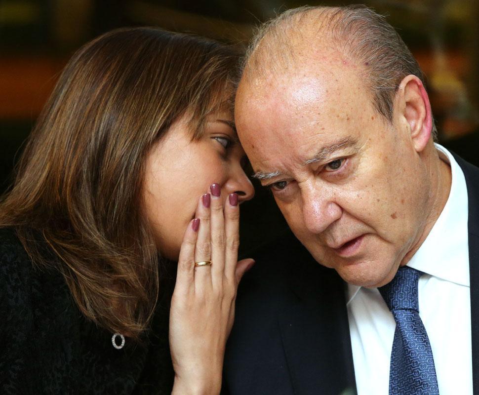 Fernanda Miranda e Pinto da Costa - Jantar de Natal de apoio às recandidaturas do presidente portista Foto: Lusa