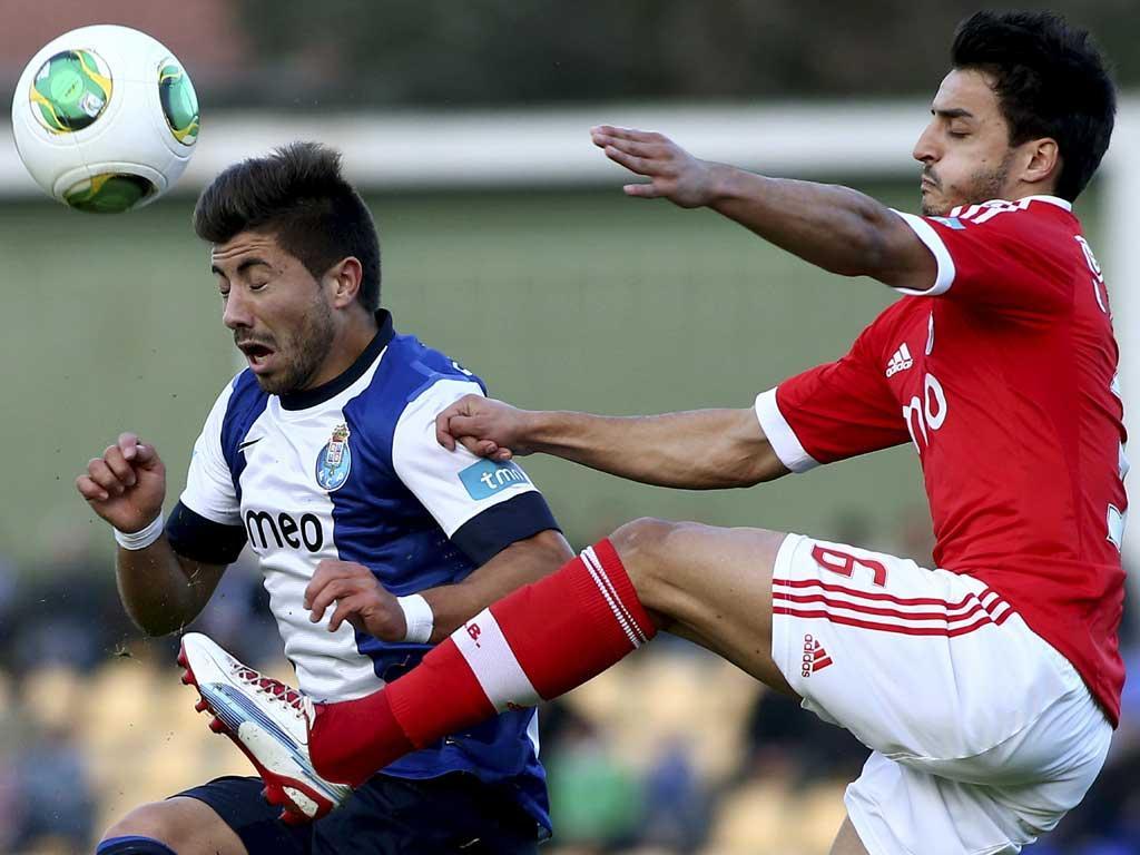 Porto B X Benfica B (Estela Silva/Lusa)