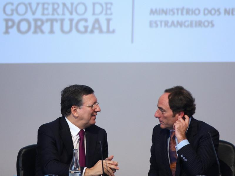 Durão Barroso e Paulo Portas (Lusa)