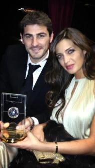 Iker Casillas e Sara Carbonero Foto: Facebook