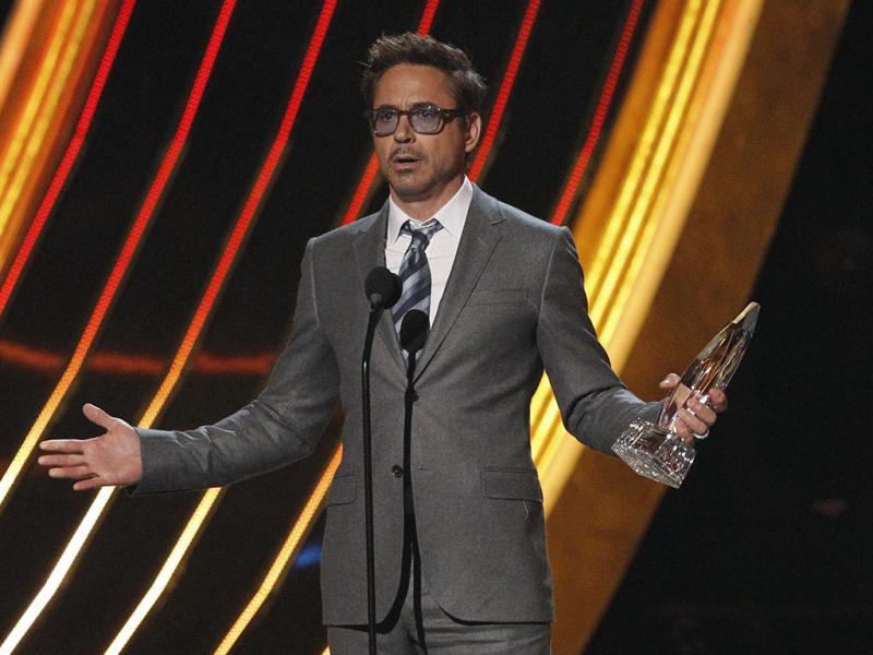 Robert Downey Jr. nos People`s Choice Awards (Reuters)