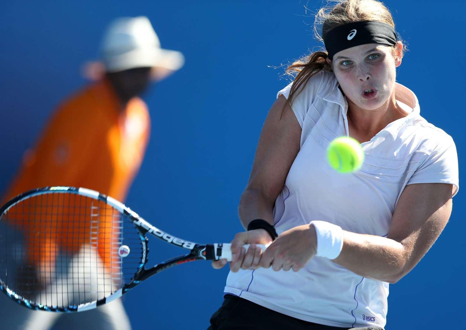 Maria João Koehler no Open da Austrália