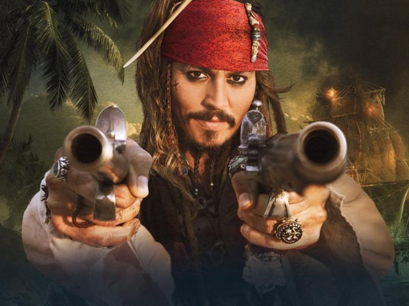 Jack Sparrow - Piratas das Caraíbas