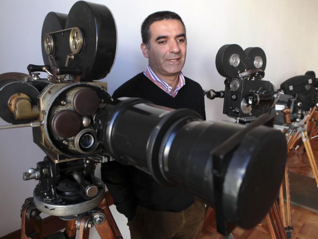 Rui Machado, diretor do Arquivo Nacional das Imagens em Movimento (Manuel de Almeida/LUSA)