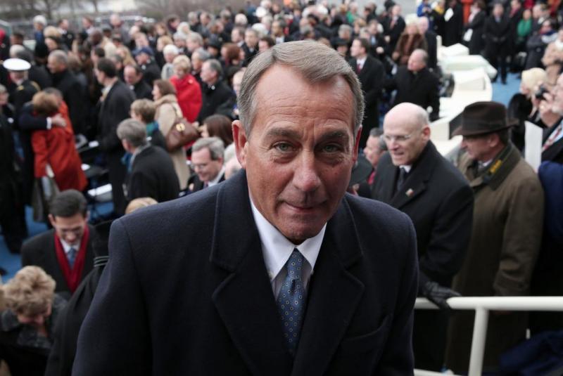 John Boehner - Tomada de Posse de Barack Obama 2013 Foto: Reuters