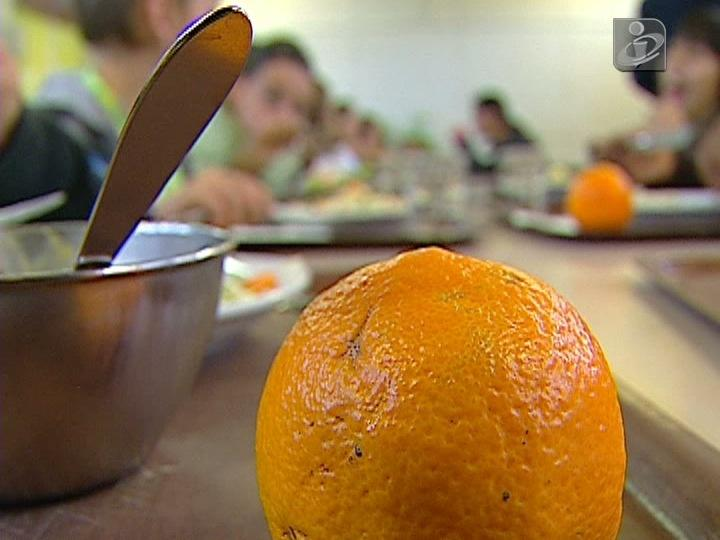 Almoço nas escolas