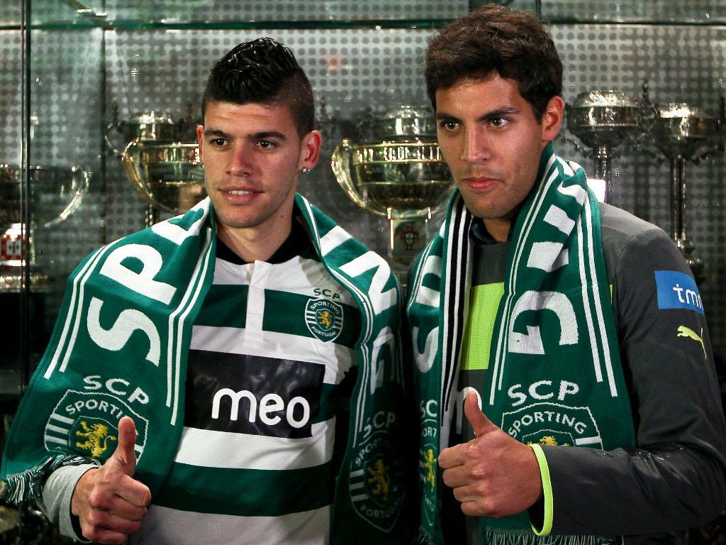 Sporting apresentou Joãzinho e Ventura