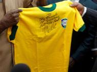 Brasil camisola Pelé [Reuters]