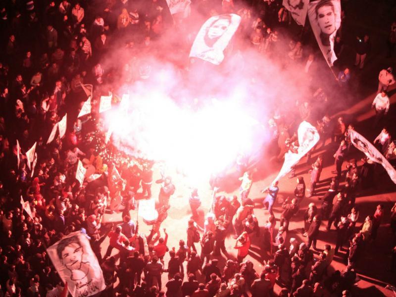 Egito: 2.º aniversário da revolução marcado por confrontos (REUTERS/Mohamed Abd El Ghany)