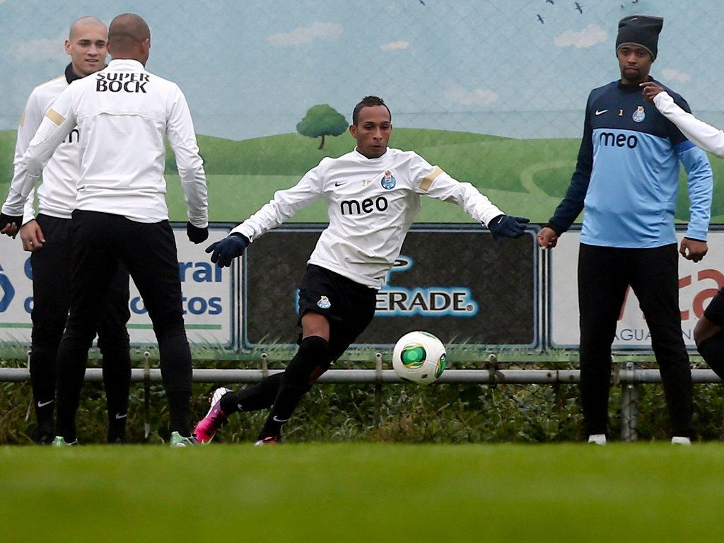 O primeiro treino de Liedson no FC Porto [Lusa]