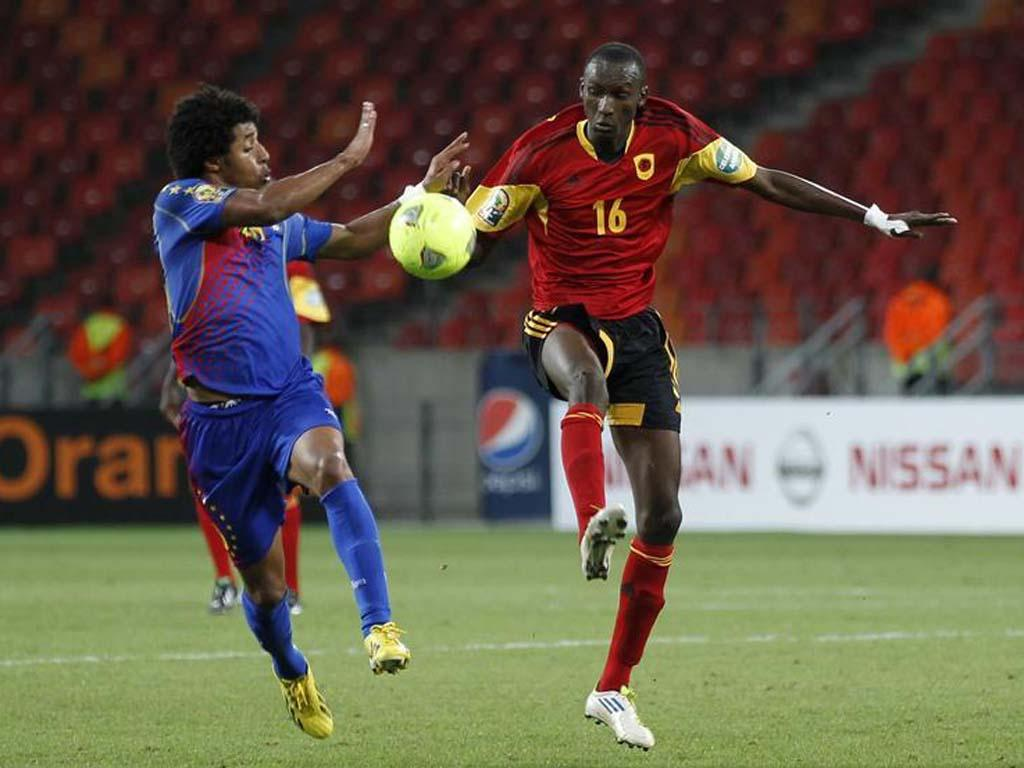 Angola vs Cabo Verde (REUTERS)