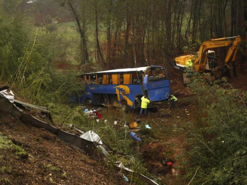 Acidente de autocarro na Sertã [Reuters]