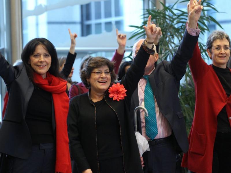 Ana Gomes (EPA/JULIEN WARNAND)