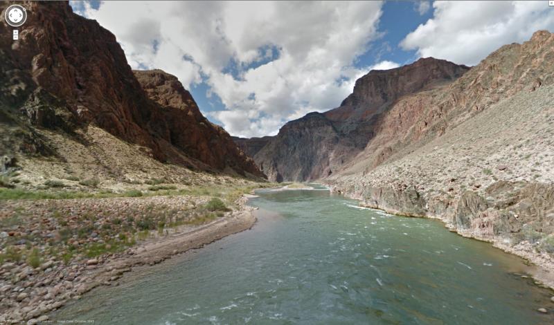 Grand Canyon em Street View (Google)