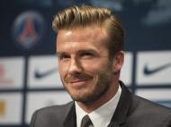 David Beckham apresentado no PSG (LUSA)
