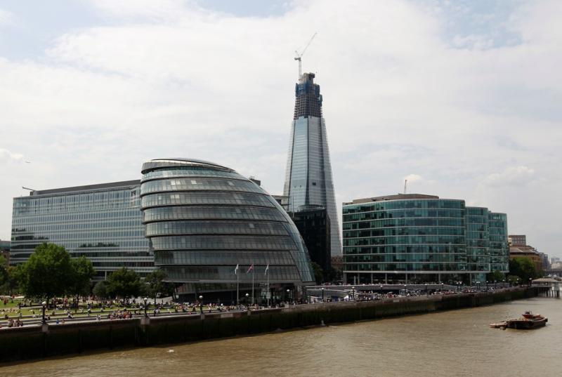 Arranha-céus «The Shard», em Londres (Reuters)