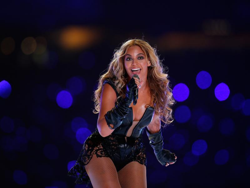 A atuação de Beyonce no Super Bowl