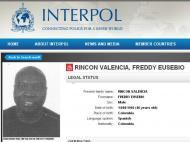 Rincon procurado pela Interpol