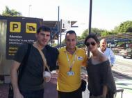 Sara Carbonero e Iker Casillas em Tenerife Fotos: Twitter