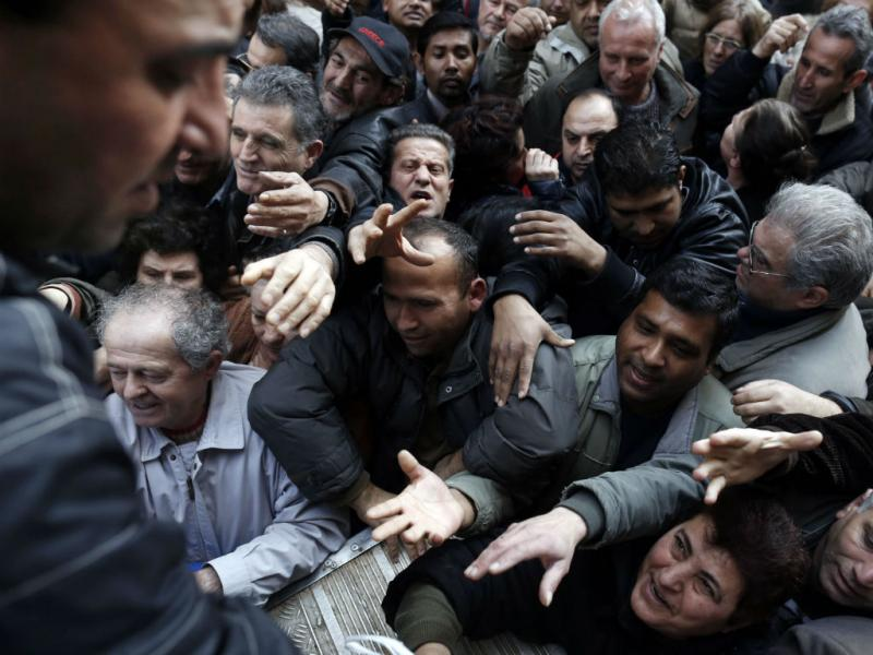 Crise na Grécia (John Kolesidis/REUTERS)