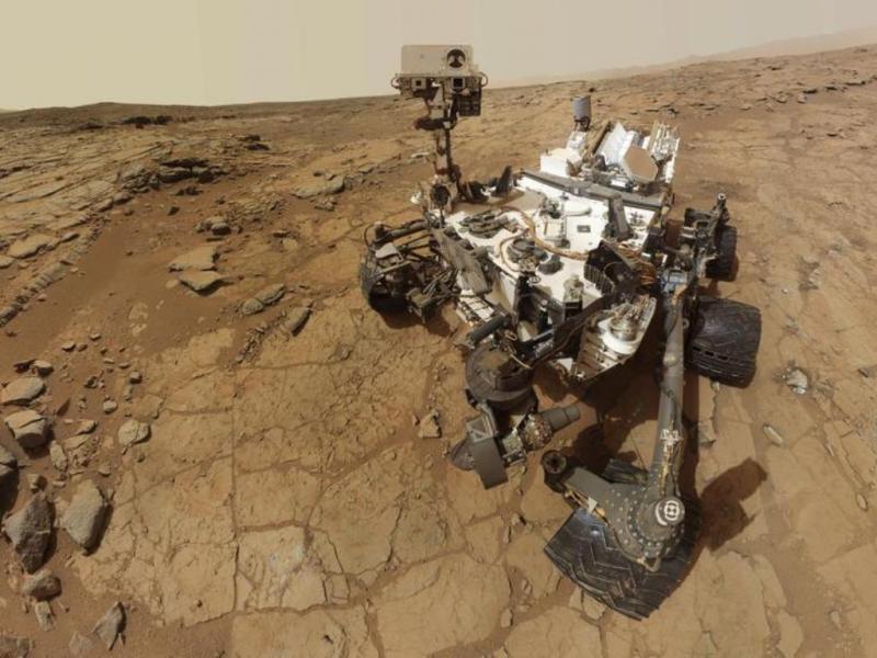 Curiosity fez o primeiro furo no solo de Marte [Reuters]
