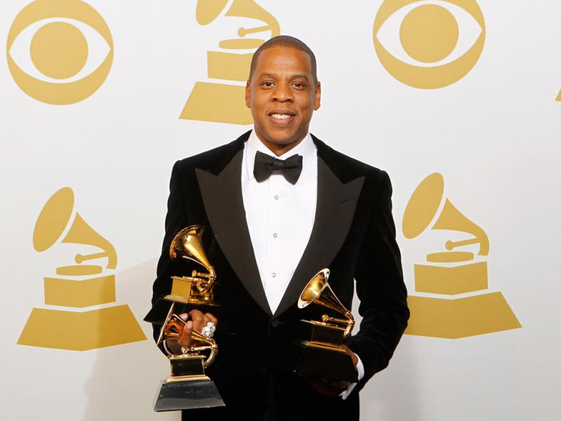 Jay-Z nos Grammy Awards 2013 (Reuters)