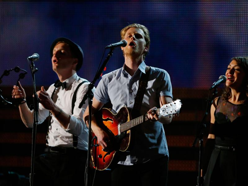 The Lumineers nos Grammy Awards 2013 (Reuters)