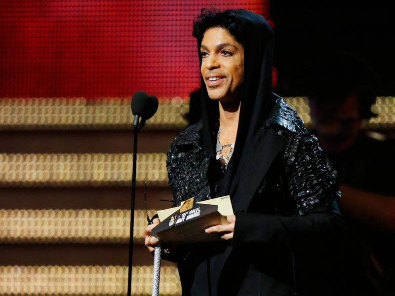 Prince nos Grammy Awards 2013 (Reuters)