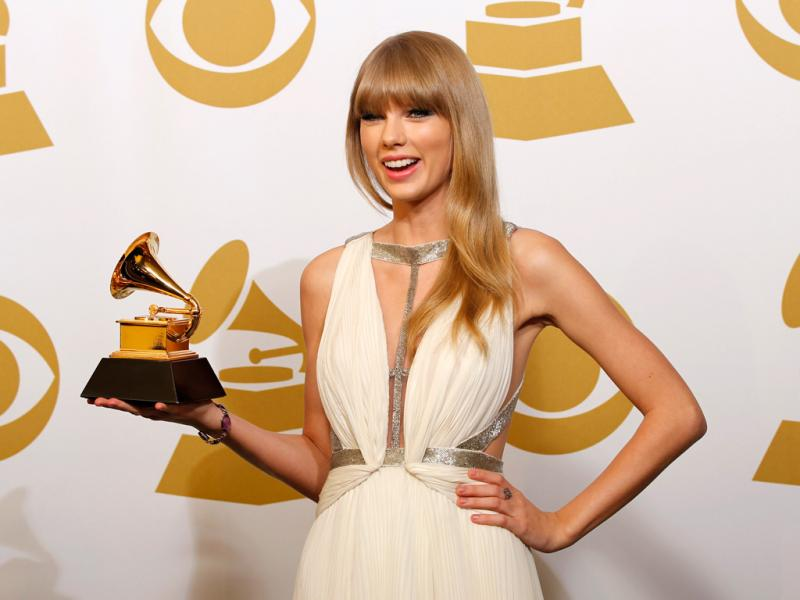 Taylor Swift nos Grammy Awards 2013 (Reuters)