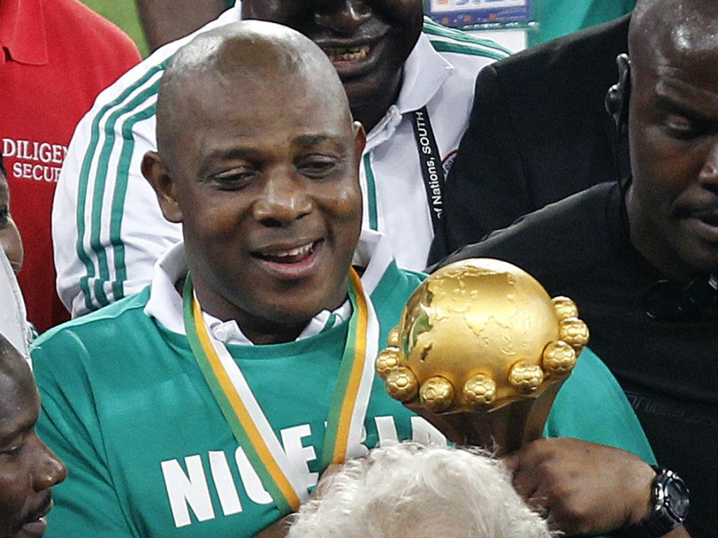 Stephen Keshi, selecionador da Nigéria